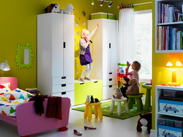 IKEA-colorful-kids-room
