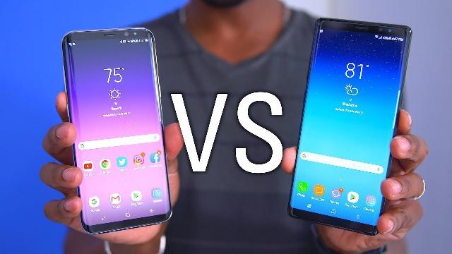 Samsung Galaxy S8 Plus vs. Samsung Note 8