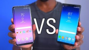Samsung Galaxy S8 Plus vs. Samsung Note 8
