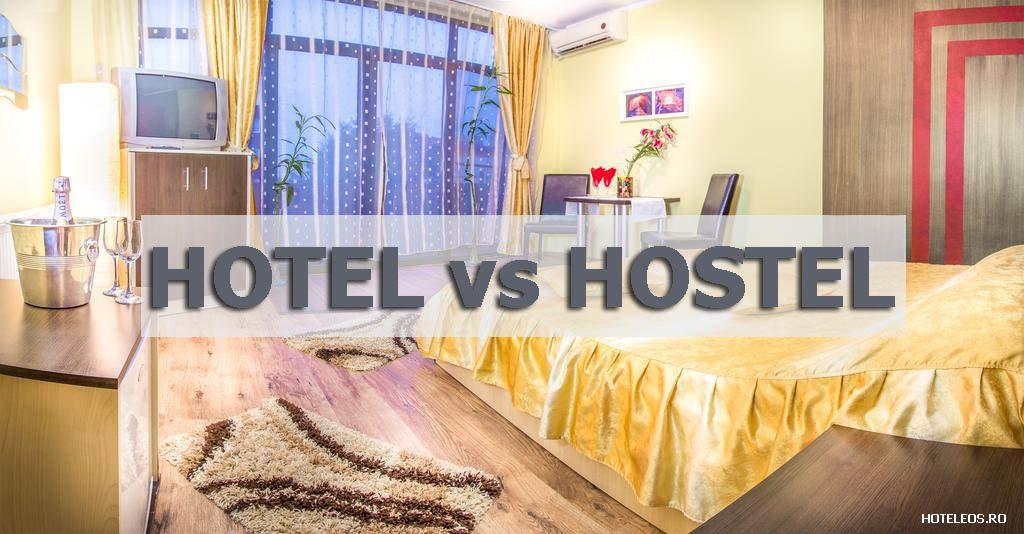 hotel vs hostel