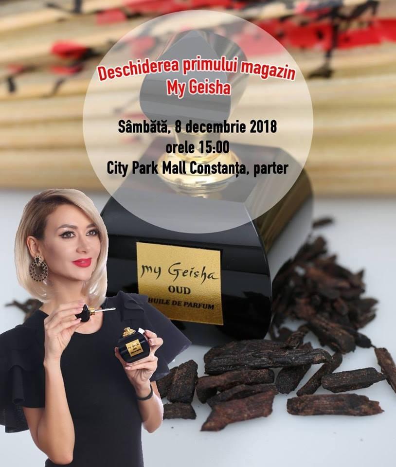 Denisa de la Bambi isi lanseaza primul magazin de parfumuri in Constanta
